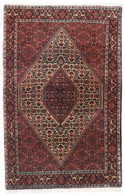 Bidjar Zanjan Matto 113X175 Itämainen Käsinsolmittu Tummanpunainen/Musta (Villa, Persia/Iran)