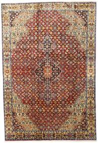 Zanjan Matto 207X306 Itämainen Käsinsolmittu Tummanruskea/Tummanpunainen (Villa, Persia/Iran)