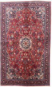 Bidjar Matto 130X220 Itämainen Käsinsolmittu Tummanvioletti/Punainen (Villa, Persia/Iran)