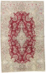 Yazd Patina Matto 195X315 Itämainen Käsinsolmittu Vaaleanharmaa/Punainen (Villa, Persia/Iran)
