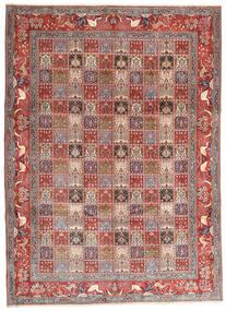 Moud Matto 243X338 Itämainen Käsinsolmittu Tummanpunainen/Beige (Villa/Silkki, Persia/Iran)