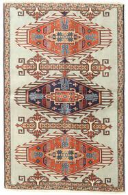 Ardebil Patina Matto 90X140 Itämainen Käsinsolmittu Vaaleanruskea/Tummanbeige (Villa, Persia/Iran)