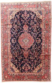 Mehraban Matto 200X315 Itämainen Käsinsolmittu Musta/Beige (Villa, Persia/Iran)