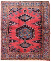 Wiss Matto 188X225 Itämainen Käsinsolmittu Ruskea/Musta (Villa, Persia/Iran)