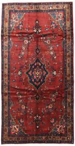 Hamadan Matto 165X300 Itämainen Käsinsolmittu Käytävämatto Tummanpunainen/Tummansininen (Villa, Persia/Iran)