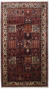 Bakhtiar Matto 173X315 Itämainen Käsinsolmittu Käytävämatto Tummanruskea/Tummanpunainen (Villa, Persia/Iran)