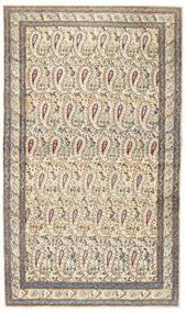 Kerman Patina Matto 85X147 Itämainen Käsinsolmittu Beige/Vaaleanharmaa (Villa, Persia/Iran)