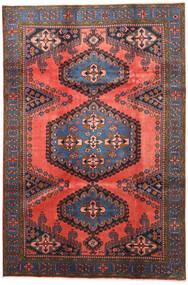Wiss Matto 210X315 Itämainen Käsinsolmittu Tummanpunainen/Tummanharmaa (Villa, Persia/Iran)