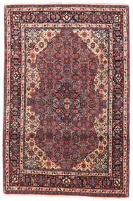 Bidjar Matto 105X155 Itämainen Käsinsolmittu Tummanvioletti/Tummanpunainen (Villa, Persia/Iran)