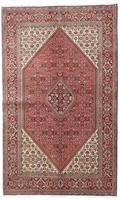 Bidjar Matto 138X225 Itämainen Käsinsolmittu Tummanruskea/Vaaleanpunainen (Villa, Persia/Iran)
