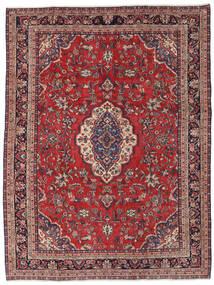 Hamadan Patina Matto 237X310 Itämainen Käsinsolmittu Tummanpunainen/Tummanvioletti (Villa, Persia/Iran)