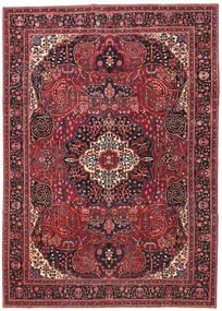 Mashad Patina Matto 257X362 Itämainen Käsinsolmittu Tummanpunainen/Punainen Isot (Villa, Persia/Iran)