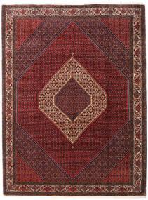 Bidjar Takab/Bukan Matto 260X345 Itämainen Käsinsolmittu Tummanpunainen/Tummanruskea Isot (Villa, Persia/Iran)