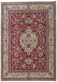 Yazd Patina Matto 245X345 Itämainen Käsinsolmittu Tummanvioletti/Beige (Villa, Persia/Iran)