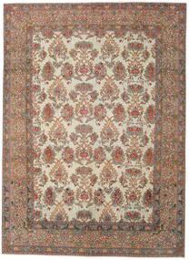 Najafabad Patina Matto 275X380 Itämainen Käsinsolmittu Vaaleanharmaa/Tummanpunainen Isot (Villa, Persia/Iran)