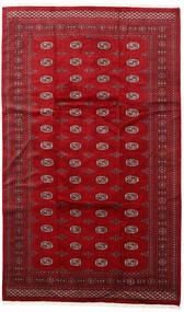 Pakistan Bokhara 3Ply Matto 200X315 Itämainen Käsinsolmittu Punainen/Tummanpunainen (Villa, Pakistan)