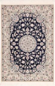 Nain 6La Matto 82X120 Itämainen Käsinsolmittu Vaaleanharmaa/Beige (Villa/Silkki, Persia/Iran)