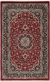 Ilam Sherkat Farsh Silkki Matto 78X127 Itämainen Käsinsolmittu Tummanpunainen/Tummanruskea (Villa/Silkki, Persia/Iran)