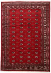 Pakistan Bokhara 2Ply Matto 246X352 Itämainen Käsinsolmittu Punainen/Tummanpunainen (Villa, Pakistan)