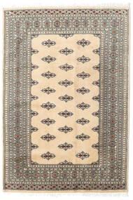 Pakistan Bokhara 2Ply Matto 127X185 Itämainen Käsinsolmittu Beige/Vaaleanharmaa (Villa, Pakistan)