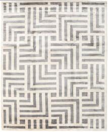 Maze Matto 250X300 Moderni Käsinsolmittu Beige/Vaaleanharmaa Isot ( Intia)