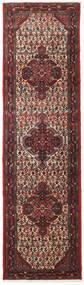 Asadabad Matto 80X293 Itämainen Käsinsolmittu Käytävämatto Tummanpunainen/Tummanruskea (Villa, Persia/Iran)