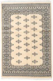 Pakistan Bokhara 2Ply Matto 123X184 Itämainen Käsinsolmittu Beige/Vaaleanharmaa (Villa, Pakistan)