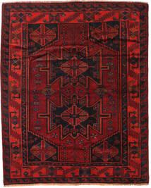 Lori Matto 168X208 Itämainen Käsinsolmittu Tummanpunainen/Ruoste (Villa, Persia/Iran)