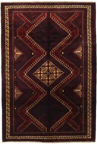 Lori Matto 188X270 Itämainen Käsinsolmittu Tummanpunainen (Villa, Persia/Iran)