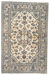 Keshan Matto 95X147 Itämainen Käsinsolmittu Vaaleanharmaa/Tummanharmaa (Villa, Persia/Iran)