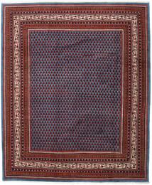 Sarough Mir Matto 214X257 Itämainen Käsinsolmittu Tummanpunainen/Sininen (Villa, Persia/Iran)