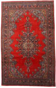 Mahal Matto 220X345 Itämainen Käsinsolmittu Tummanpunainen/Ruoste (Villa, Persia/Iran)