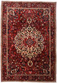 Bakhtiar Matto 214X310 Itämainen Käsinsolmittu Tummanpunainen/Musta (Villa, Persia/Iran)