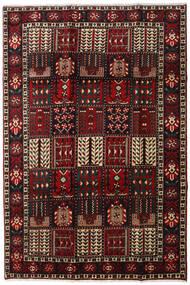 Bakhtiar Matto 205X303 Itämainen Käsinsolmittu Tummanruskea/Tummanpunainen (Villa, Persia/Iran)