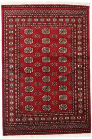 Pakistan Bokhara 2Ply Matto 126X186 Itämainen Käsinsolmittu Tummanpunainen/Punainen (Villa, Pakistan)