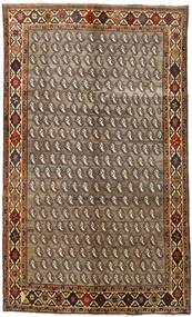 Ghashghai Matto 155X258 Itämainen Käsinsolmittu Vaaleanruskea/Tummanruskea (Villa, Persia/Iran)