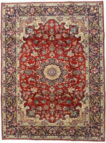 Najafabad Matto 210X280 Itämainen Käsinsolmittu Tummanpunainen/Tummanruskea (Villa, Persia/Iran)