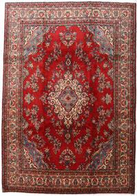 Mehraban Matto 223X324 Itämainen Käsinsolmittu Tummanpunainen/Tummanruskea (Villa, Persia/Iran)