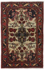 Mehraban Matto 83X129 Itämainen Käsinsolmittu Tummanpunainen/Tummanruskea (Villa, Persia/Iran)