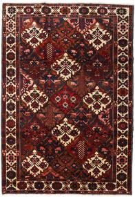 Bakhtiar Matto 220X316 Itämainen Käsinsolmittu Tummanpunainen (Villa, Persia/Iran)