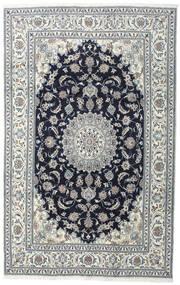 Nain Matto 200X308 Itämainen Käsinsolmittu Tummanharmaa/Vaaleanharmaa (Villa, Persia/Iran)