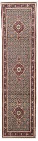 Moud Matto 75X296 Itämainen Käsinsolmittu Käytävämatto Tummanpunainen/Tummanruskea (Villa/Silkki, Persia/Iran)