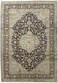 Keshan Matto 254X361 Itämainen Käsinsolmittu Musta/Vaaleanharmaa Isot (Villa, Persia/Iran)