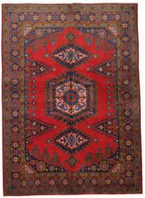 Wiss Matto 155X215 Itämainen Käsinsolmittu Tummanpunainen/Tummanruskea (Villa, Persia/Iran)