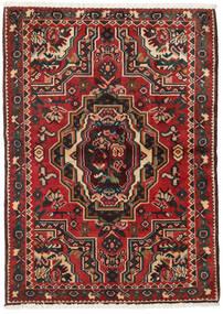 Bakhtiar Matto 103X145 Itämainen Käsinsolmittu Tummanruskea/Tummanpunainen (Villa, Persia/Iran)