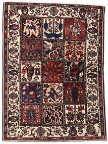 Bakhtiar Matto 110X151 Itämainen Käsinsolmittu Tummanruskea (Villa, Persia/Iran)