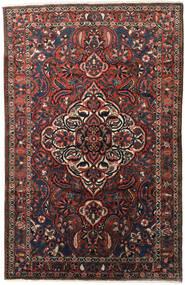 Bakhtiar Matto 155X245 Itämainen Käsinsolmittu Tummanruskea/Tummanpunainen (Villa, Persia/Iran)