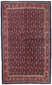 Mahal Matto 135X218 Itämainen Käsinsolmittu Tummanvioletti/Vaaleanharmaa (Villa, Persia/Iran)