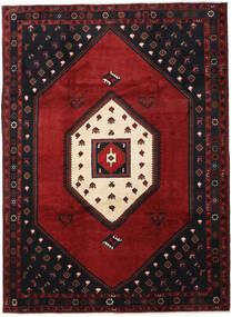Klardasht Matto 215X293 Itämainen Käsinsolmittu Musta/Tummanpunainen (Villa, Persia/Iran)