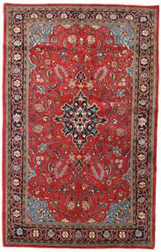 Sarough Matto 135X215 Itämainen Käsinsolmittu Tummanpunainen/Ruoste (Villa, Persia/Iran)